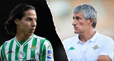 El gol de Lainez muy rico y todo, pero aún debe mejorar, dice el DT del Betis