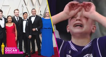 ¡Latin Lover acudió a los premios Oscar 2019 y la gente no puede con la emoción!