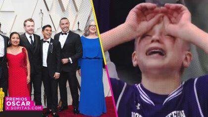 ¡Latin Lover acudió a los premios Oscar 2019 y la gente no puede de la emoción!