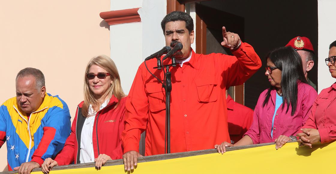 """Maduro reta a Guaidó a convocar a elecciones en Venezuela para darle una """"revolcada de votos"""""""