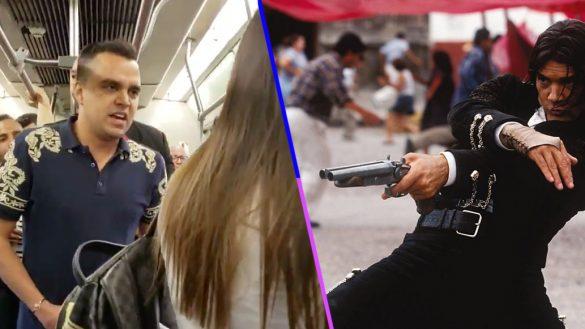Joven canta con mariachi infidelidad de su novia… usuarios del metro se enteran