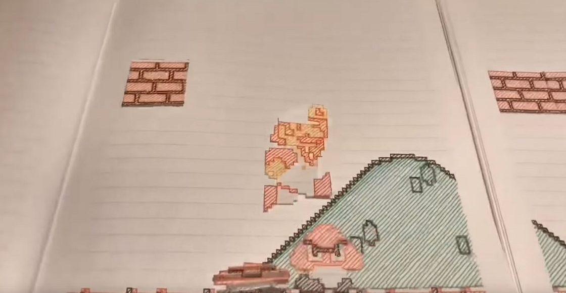 Super Mario Bros - Animación en stop motion