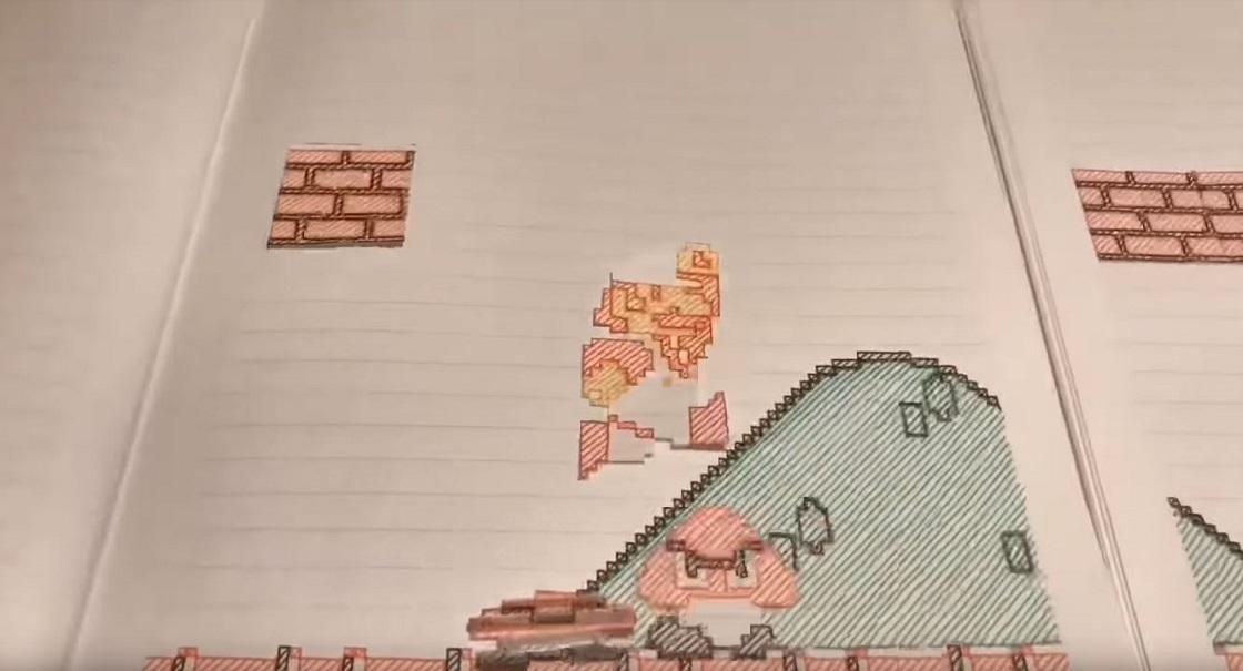 ¡Nerdgasmo! Este es el mejor video stop motion de Super Mario que existe
