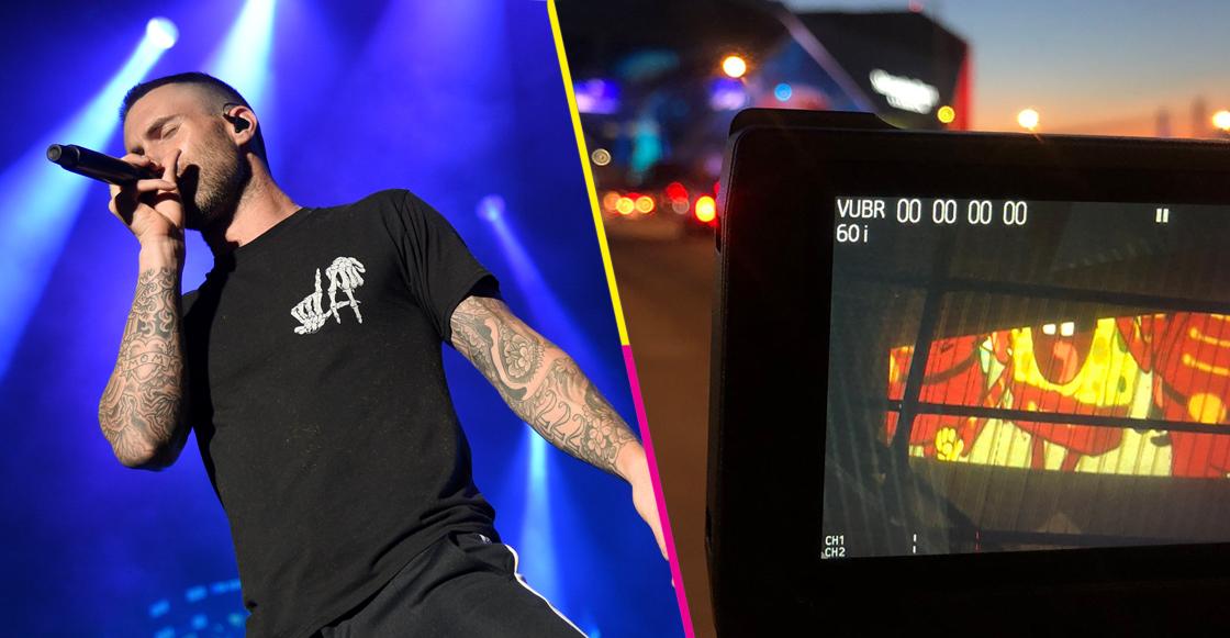 ¡Esta es la prueba de que Maroon 5 sí tocaría la canción de Bob Esponja en el Super Bowl LIII!
