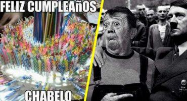 ¡Feliz cumpleaños cuate! Chabelo cumplió años y sí, internet lo festejó con memes