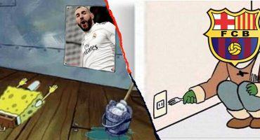Barcelona y Real Madrid nos regalaron nuestra clásica dosis de memes