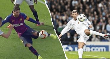 El golazo de Messi a lo Zidane desde diferentes ángulos