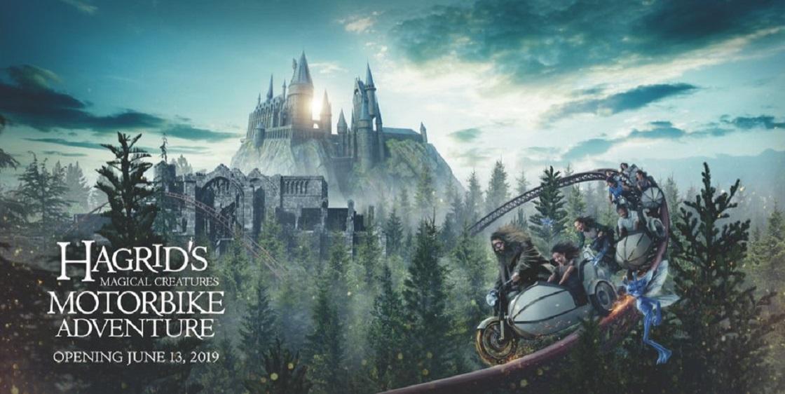 Montaña rusa inspirada en Harry Potter