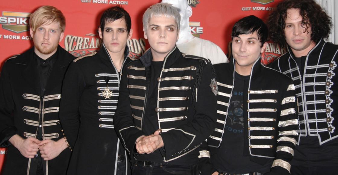 Sniff: Gerard Way aclara los rumores sobre una reunión de My Chemical Romance