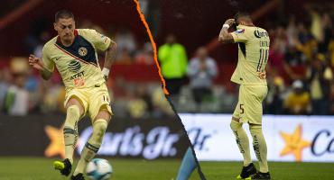 Nicolás Castillo se estrenó con el América con un doblete y un osote