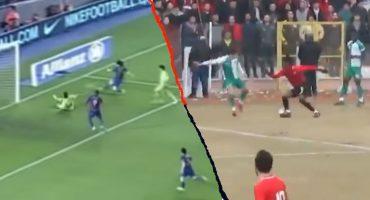 El nigeriano que hizo 'ver mal' a Messi y Maradona con su golazo de fantasía