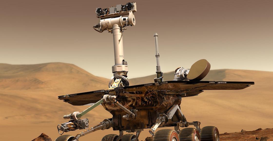 Opportunity, el robot de la NASA, oficialmente 'murió' en Marte