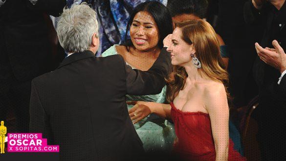 El elenco de ROMA celebró en grande y al ritmo de Juan Gabriel en el after party de los Oscar