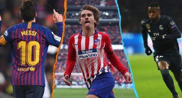 Los partidos que podrían decidir La Liga para Barcelona, Real Madrid o el Atlético