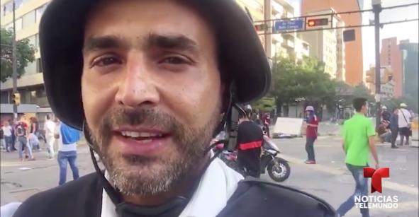 Denuncian la desaparición de un periodista de Telemundo en Venezuela
