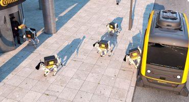 Los extraños perros robots que podrían entregar tu correo en el futuro