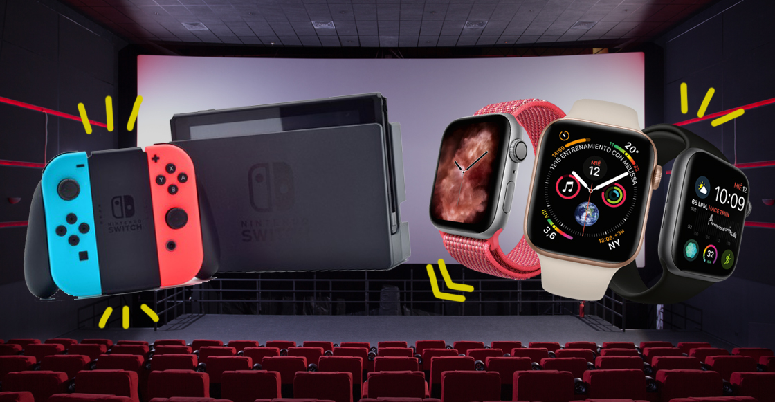 ¡Gánate un Nintendo Switch y un Apple Watch en la quiniela de Sopitas.com a lo mejor del cine!