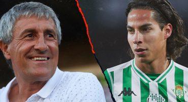 Setién respeta a los mexicanos, pero en Betis Lainez es igual a todos y jugará si lo merece