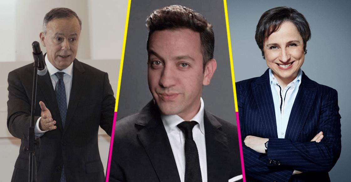 Ciro tiene el programa más escuchado en la radio, Chumel el 5º y Aristegui cae al 22