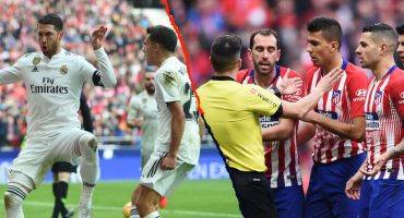 Real Madrid le ganó el Derbi al Atlético con polémica y 'ayuda del VAR'