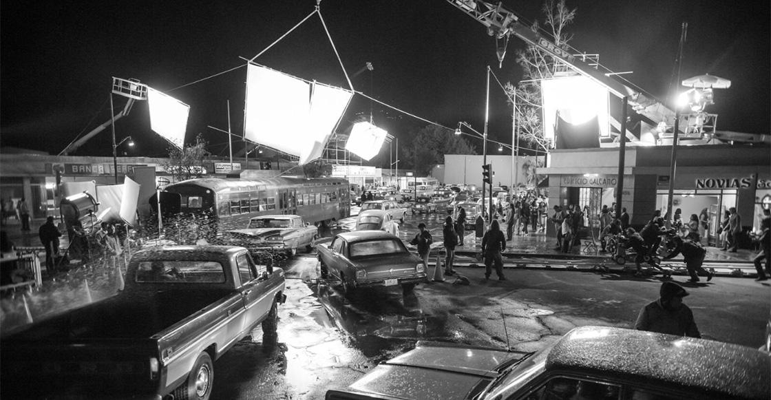 'ROMA': La verdadera magia del cine reconstruida en estacionamientos