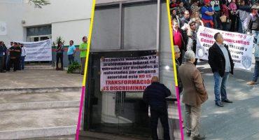 Trabajadores sindicalizados de Semarnat inician paro nacional de labores