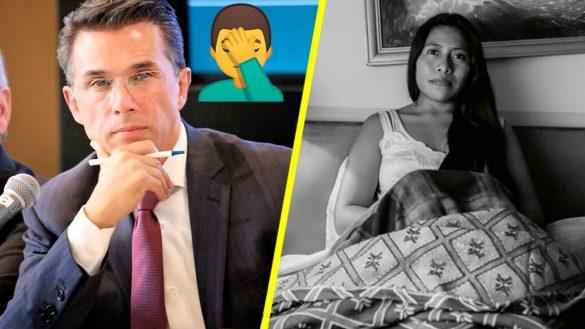 """¿Otra vez usted? Sergio Mayer pide ya no hacer memes de """"Yanitza"""" Aparicio"""