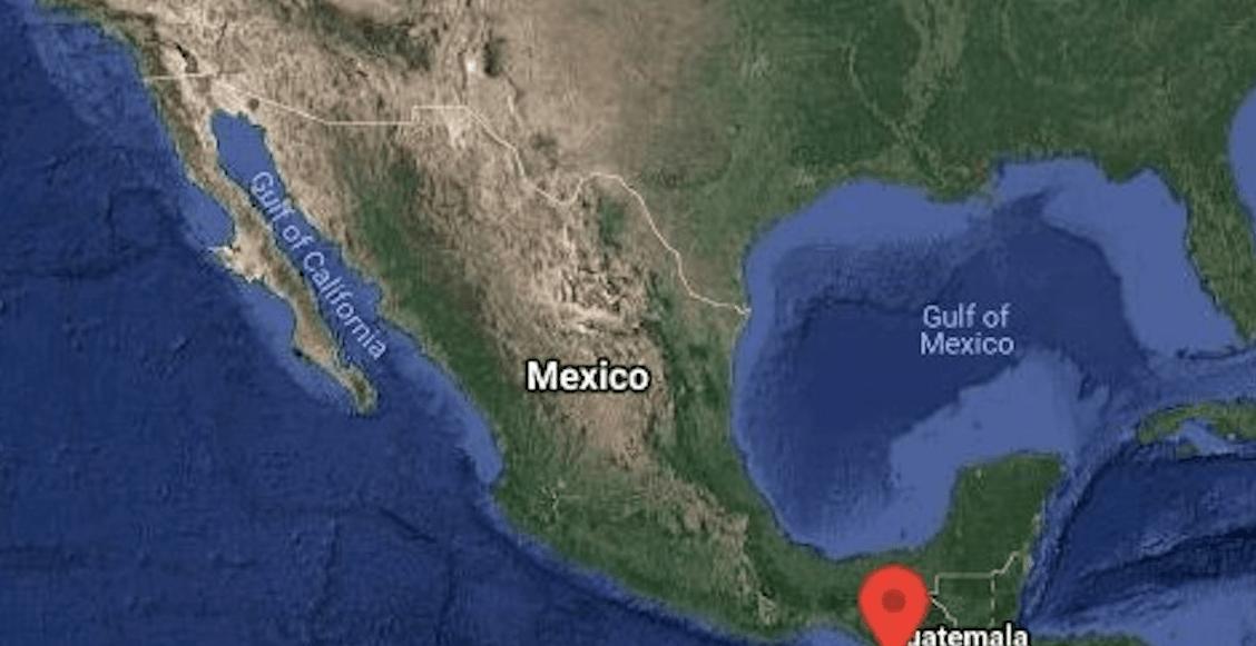 Se registra sismo en Ciudad Hidalgo Chiapas