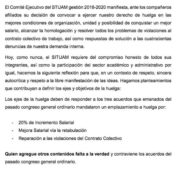 Se confirma que estalla huelga en la UAM; estas son las razones