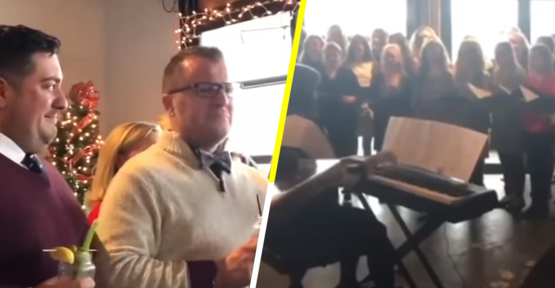 La tierna sorpresa que un maestro gay recibió por parte de sus alumnos el día de su boda