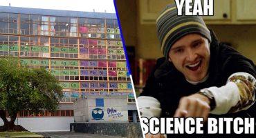 ¡Nerdgasmo! Crean Tabla Periódica Monumental en la Facultad de Química