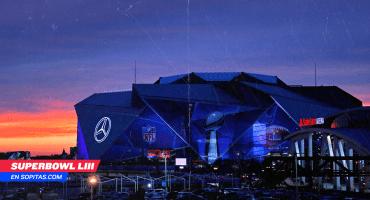 Así funcionará el techo retráctil del Mercedes-Benz durante el Super Bowl