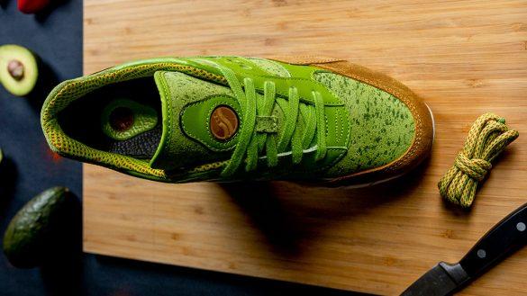 Solo para aguacate lovers: Checa estos tenis inspirados en el guacamole