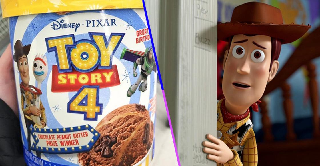 ¡Ya hay helado de Toy Story 4 y necesitamos probarlo con urgencia!