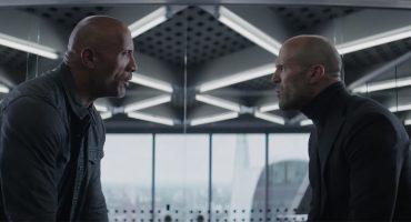 Rápidos y furiosos presenta el tráiler de 'Hobbs & Shaw' con 'La Roca' y Jason Statham
