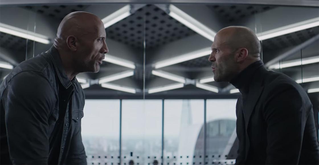 Rápidos y furiosos presentan el tráiler de 'Hobbs & Shaw' con La Roca y Jason Statham