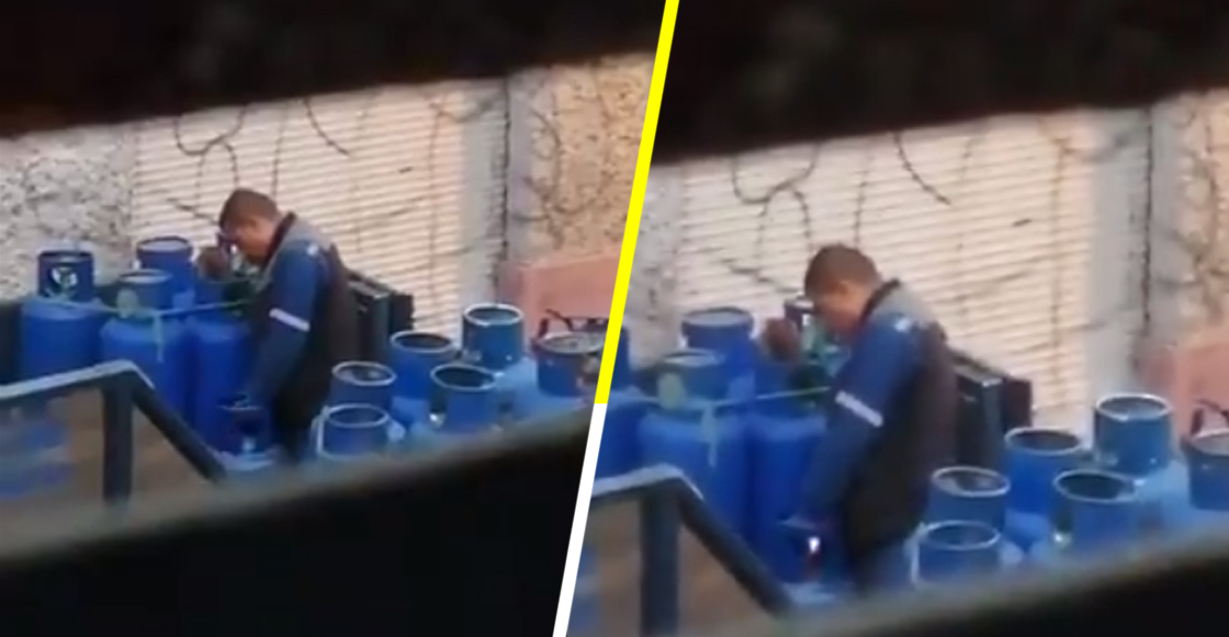 Estupidez nivel: Vendedores de gas LP resellan tanques de gas con UN ENCENDEDOR