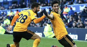 ¡En modo bestia! Raúl Jiménez le marcó su gol 10 en la Premier al Bournemouth