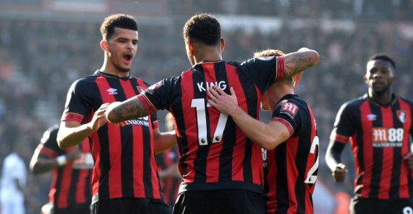 Raúl Jiménez rescató el empate del Wolverhampton ante Bournemouth