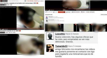 Mundo enfermo y triste: Graban a mujeres en los baños de la UNAM y lo suben a páginas porno