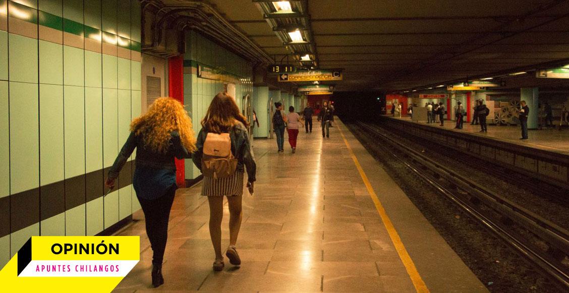 """Apuntes chilangos: """"Cálmate, mi amor"""", la respuesta de las autoridades a la violencia de género"""