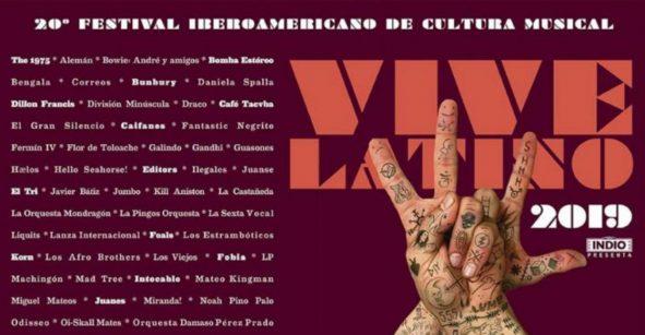 ¡Así quedaron los horarios y escenarios para el Vive Latino 2019!