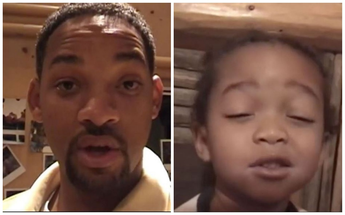 Will smith comparte un video viejo de su hijo Jaden