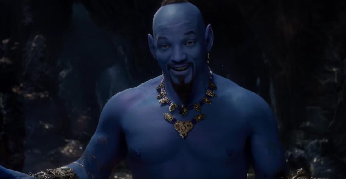 Will Smith tenía razón, el genio de Aladdín si es azul