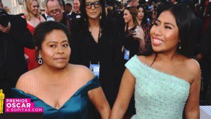 Orgullo nivel: Yalitza Aparicio llevó a su mamá a los premios Oscar 2019