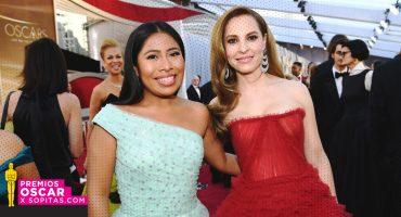 ¡Guapísimas! Así se ven Yalitza Aparicio y Marina de Tavira en la alfombra roja de los Oscar 2019