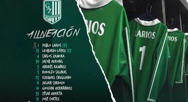 ¡Homenaje a un grande! Pablo Larios alinea como portero titular con Zacatepec 👏