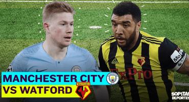 EN VIVO: Manchester City defiende su liderato de la Premier League ante Watford