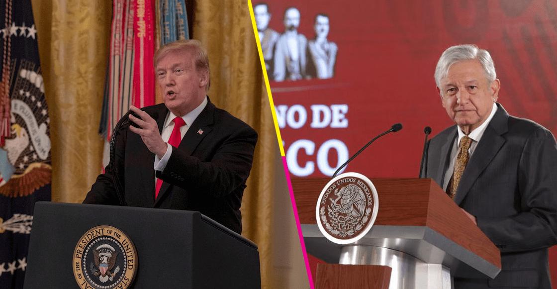 AMLO Trump