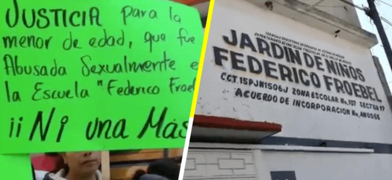 Denuncian abuso sexual en contra de una menor de edad en un kínder de Chimalhuacán